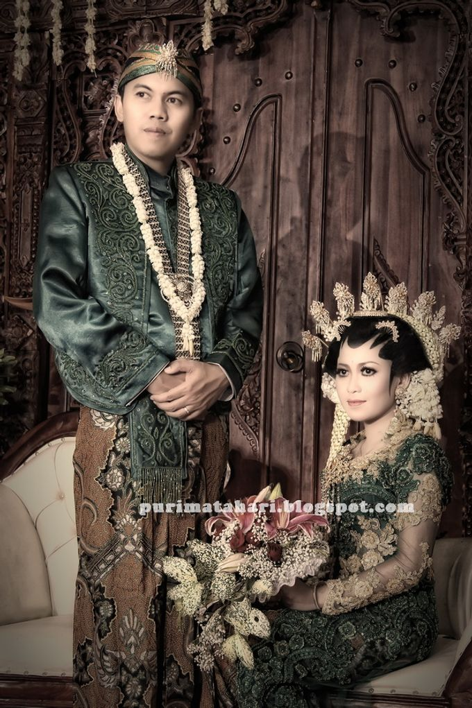 Pengantin Jawa by Puri Matahari Rias Pengantin - 002