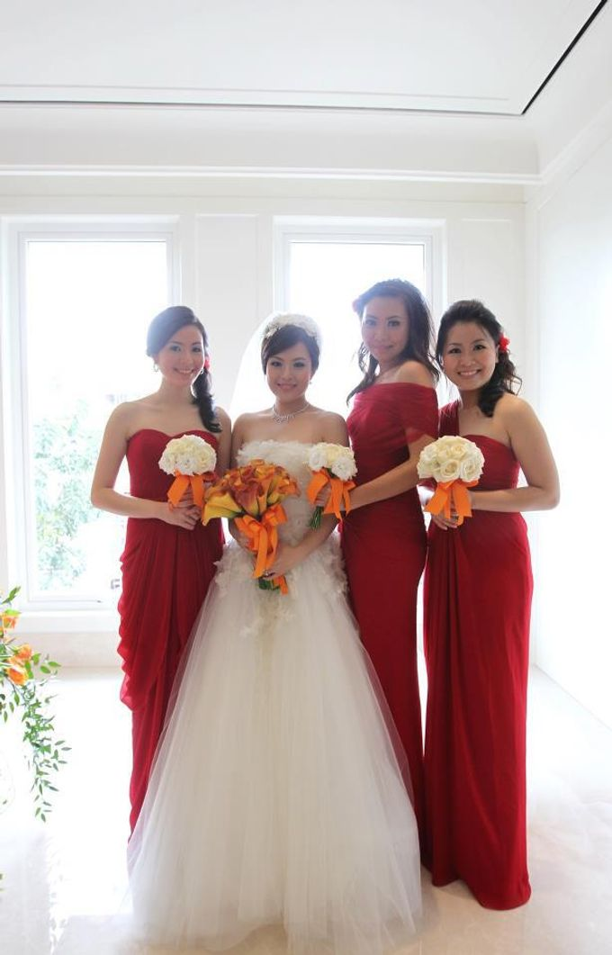 Bride & Bridesmaid by DHITA bride - 002