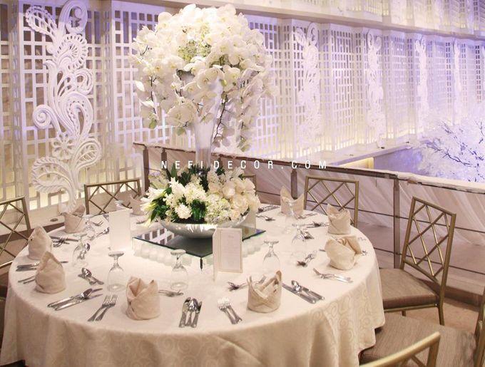 Ballroom Decorated by Thamrin Nine Ballroom - 007