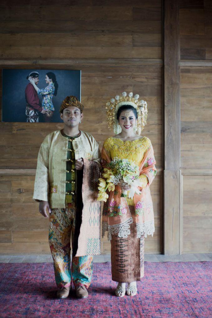 Bunga & Dendy Wedding Day by Adhyakti Wedding Planner & Organizer - 017