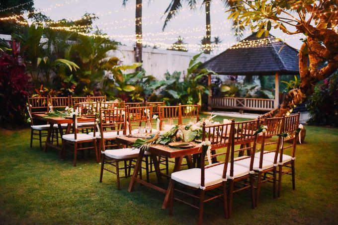 Cheerish Dinner By Villa Santai Ubud By Bali Villas R Us Bridestory Com