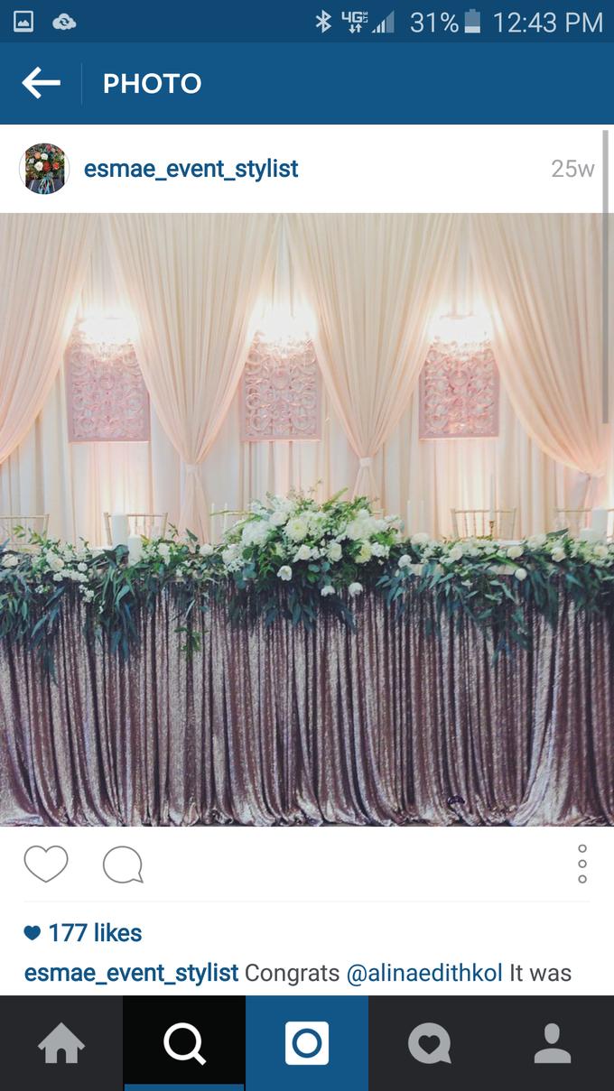 White Wedding by Esmae Event Floral Design - 002