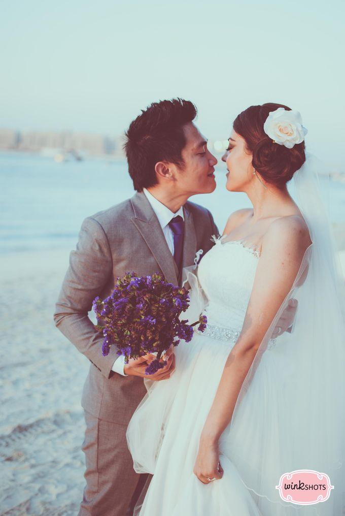 Mac and Fari -  Dubai Beach Wedding by WINKSHOTS - Wedding and Events Photographer - 003