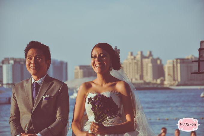 Mac and Fari -  Dubai Beach Wedding by WINKSHOTS - Wedding and Events Photographer - 016