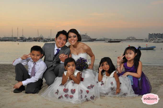 Mac and Fari -  Dubai Beach Wedding by WINKSHOTS - Wedding and Events Photographer - 002