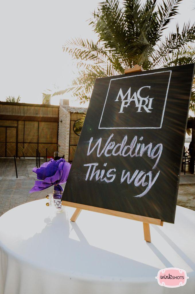 Mac and Fari -  Dubai Beach Wedding by WINKSHOTS - Wedding and Events Photographer - 008