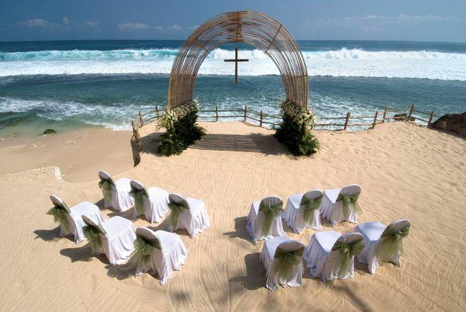THE BVLGARI BEACH WEDDING by Bulgari Resort Bali - 001