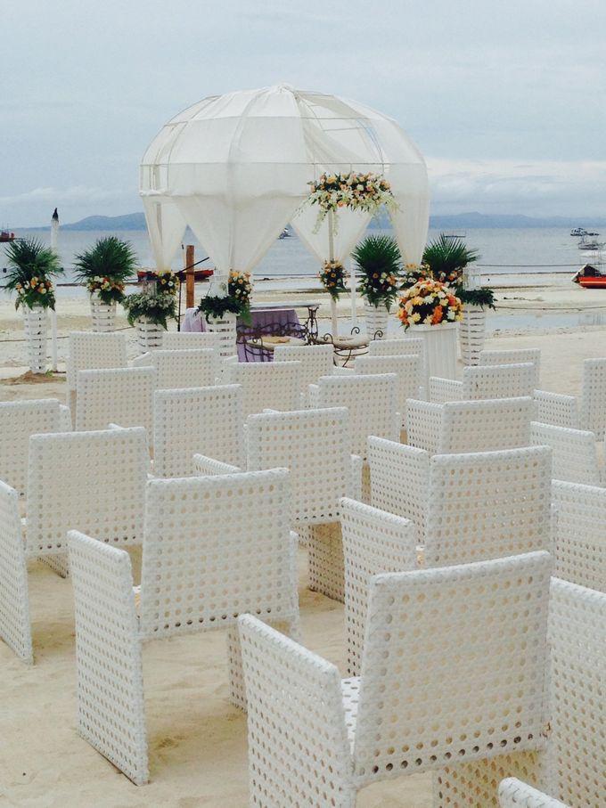 Beach Wedding by The Bellevue Resort - 003