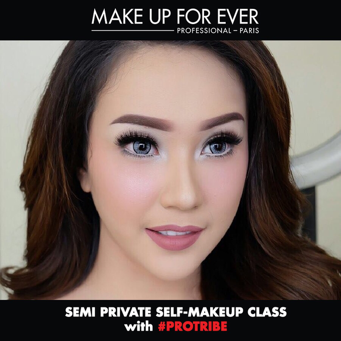 Semi private Makeupclass for Makeup Forever by beautified by santishiva - 001