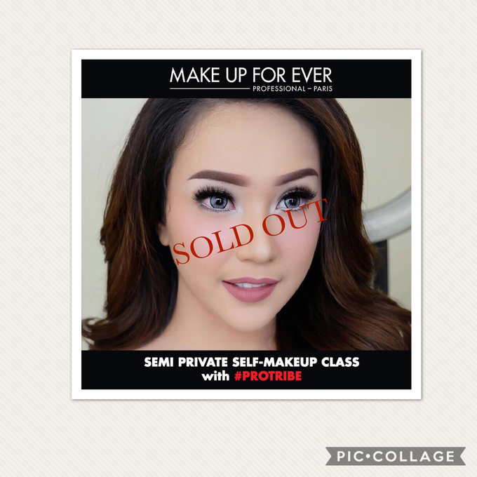 Semi private Makeupclass for Makeup Forever by beautified by santishiva - 003