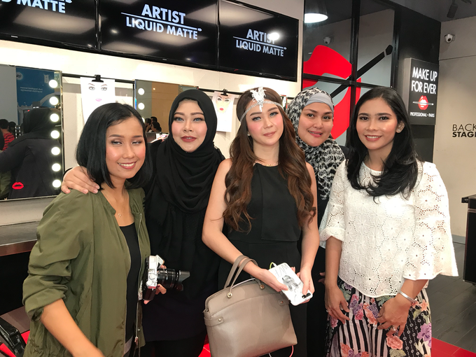 Semi private Makeupclass for Makeup Forever by beautified by santishiva - 008