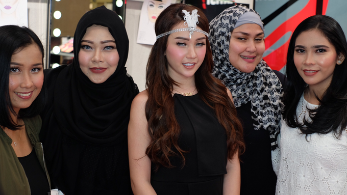 Semi private Makeupclass for Makeup Forever by beautified by santishiva - 009