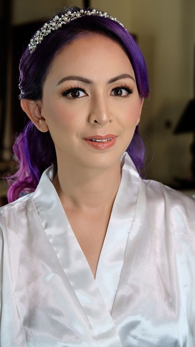 Bridal Makeup - Mrs. Flame Rozario by Junie Fang Makeup Artist - 003