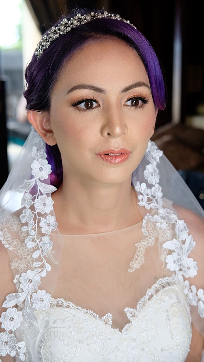Bridal Makeup - Mrs. Flame Rozario by Junie Fang Makeup Artist - 002