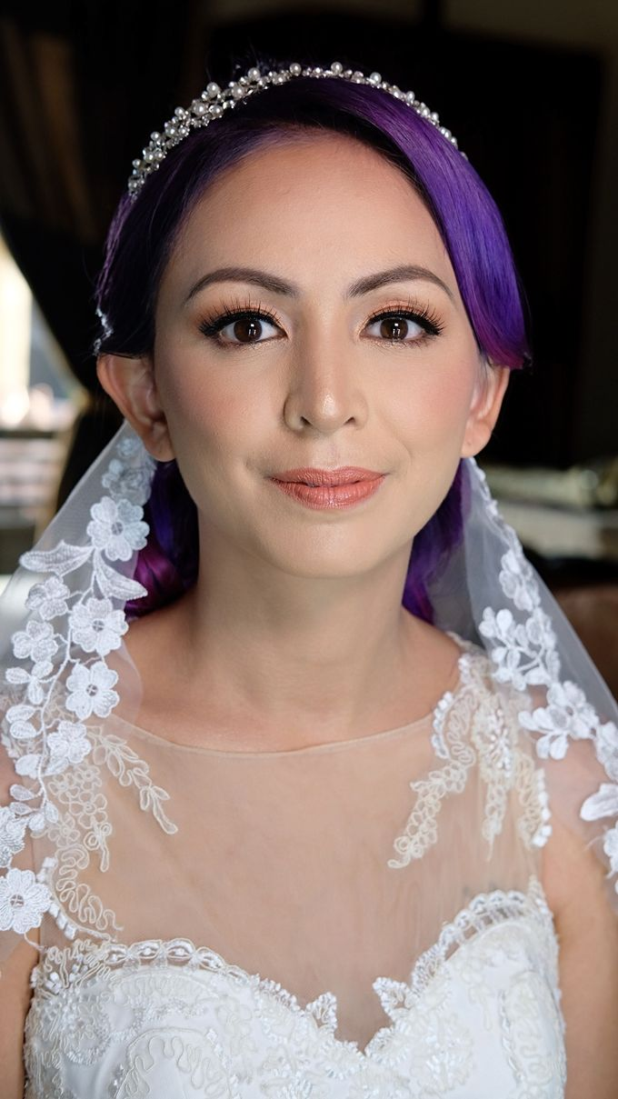 Bridal Makeup - Mrs. Flame Rozario by Junie Fang Makeup Artist - 004