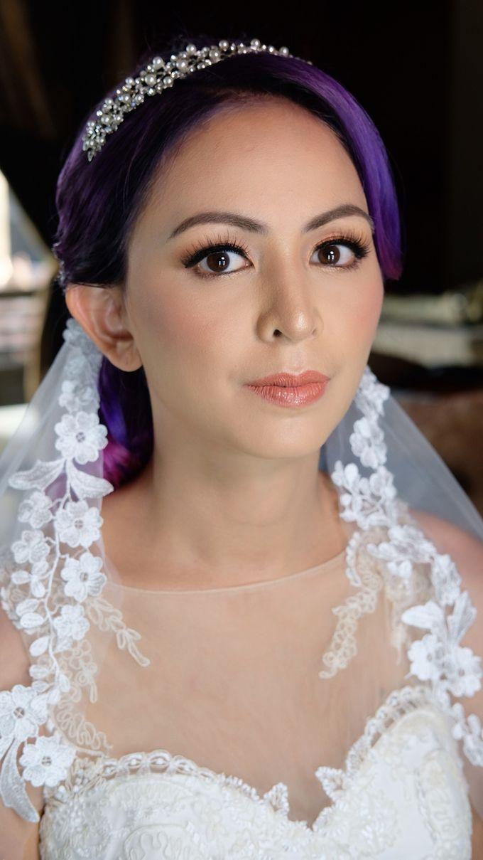 Bridal Makeup - Mrs. Flame Rozario by Junie Fang Makeup Artist - 001