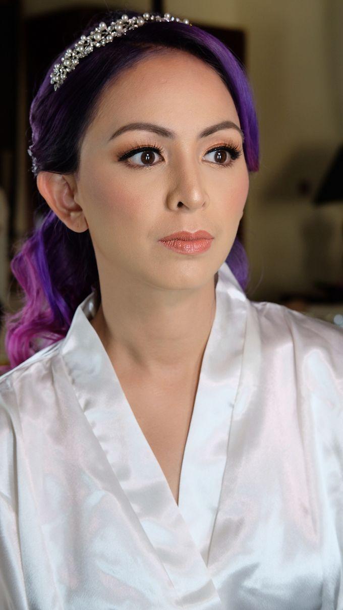 Bridal Makeup - Mrs. Flame Rozario by Junie Fang Makeup Artist - 006