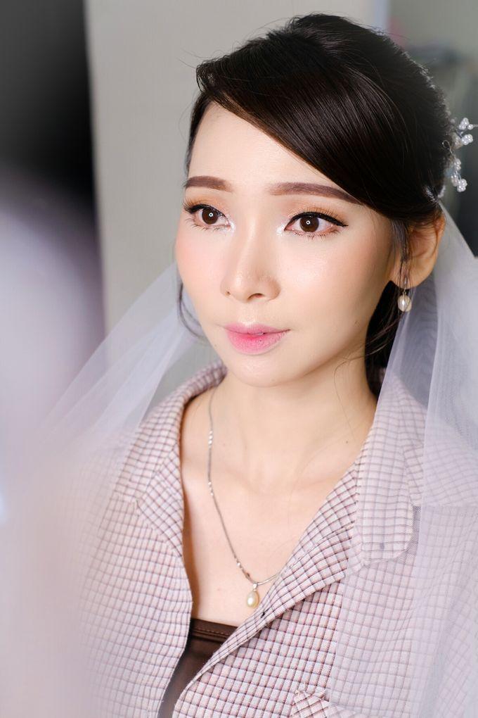 prewed makeup for ms frizbeey by Novysarilim Makeup - 005