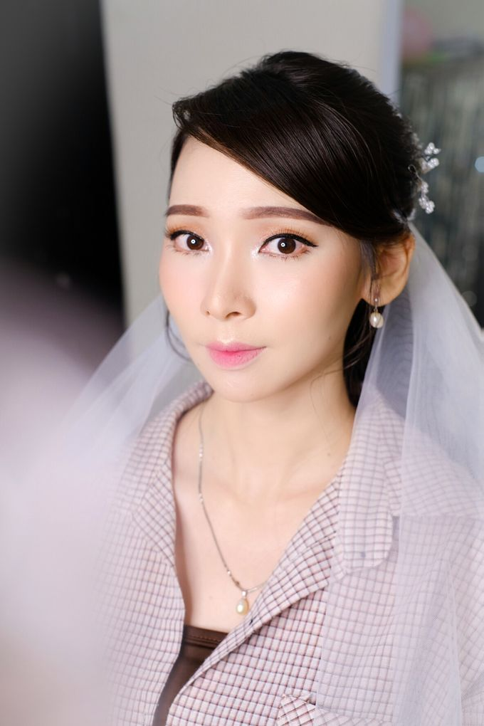 prewed makeup for ms frizbeey by Novysarilim Makeup - 007
