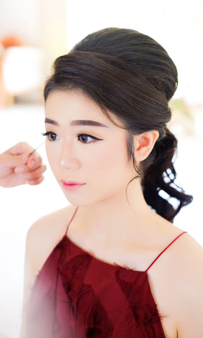 prewed makeup for ms angel by Novysarilim Makeup - 001