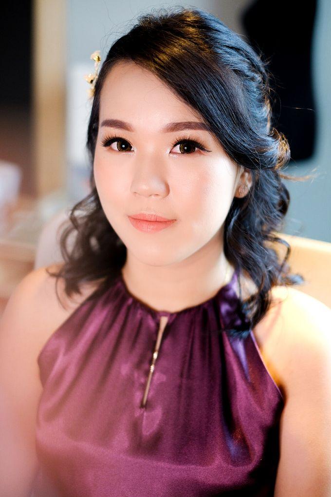 bridesmaid makeup by Novysarilim Makeup - 001
