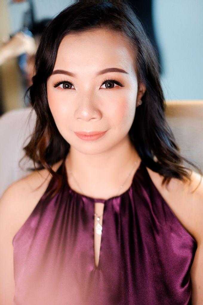 bridesmaid makeup by Novysarilim Makeup - 002