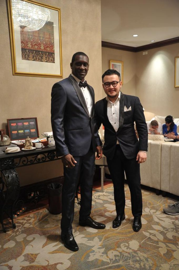 Suit Design for Emile Heskey by Wong Hang Distinguished Tailor - 001