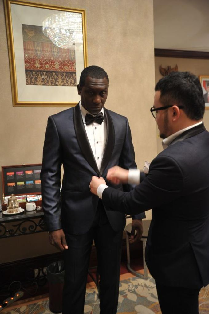 Suit Design for Emile Heskey by Wong Hang Distinguished Tailor - 002