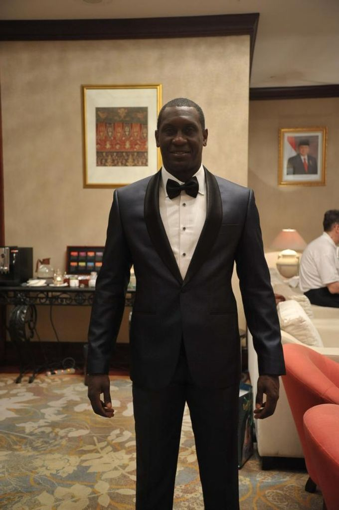 Suit Design for Emile Heskey by Wong Hang Distinguished Tailor - 004