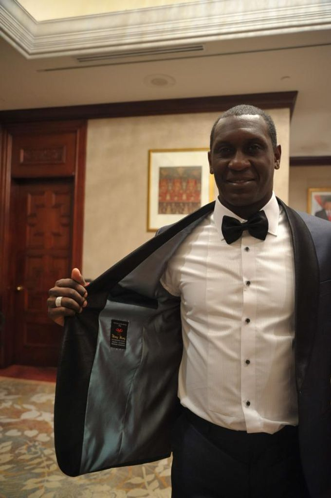 Suit Design for Emile Heskey by Wong Hang Distinguished Tailor - 005