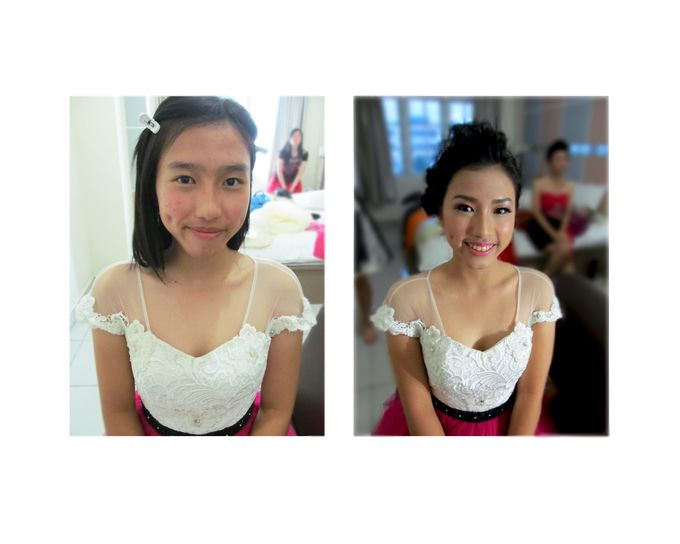 Prewedding and Before After by Makeup by Fonny - 001