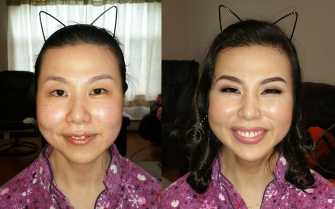Before and After by Cinthia Torres Makeup Artistry - 003