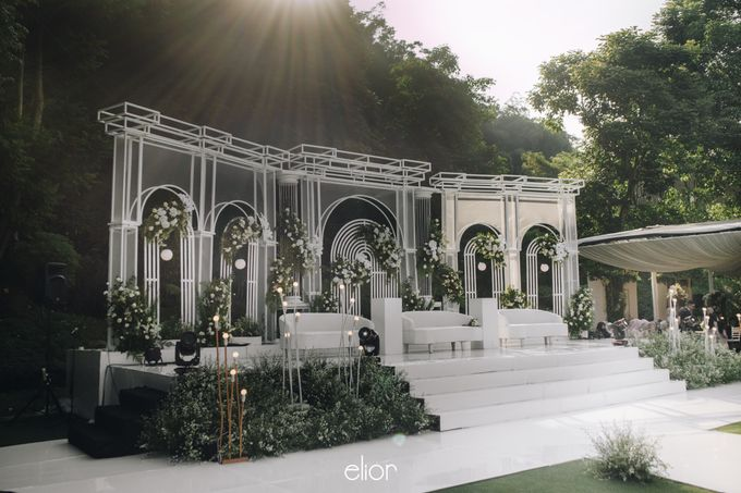 The Wedding of Bela and Didi by Elior Design - 016
