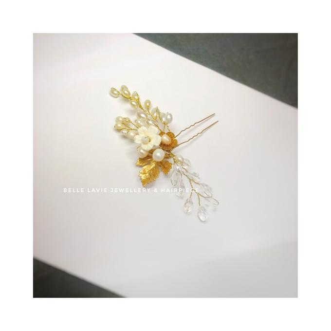 Gold Sakura Hairpin for Ms.Disa by Belle La_vie - 002