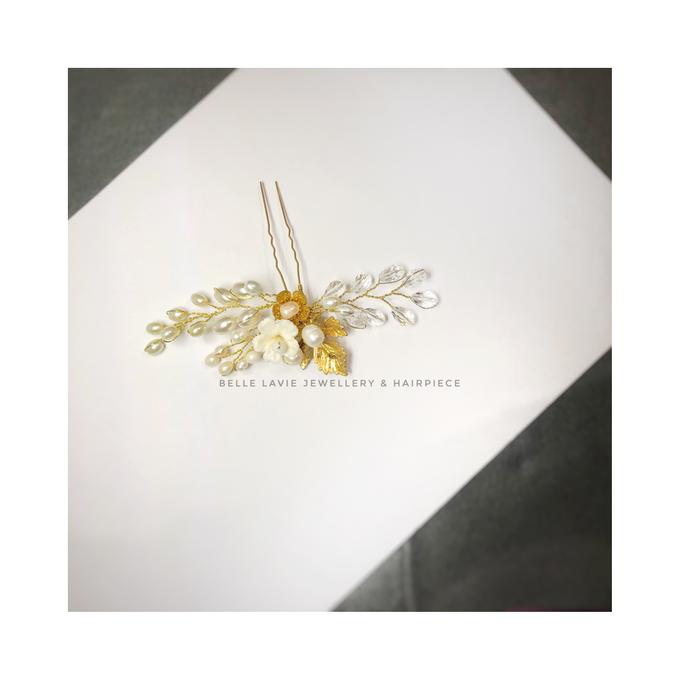 Gold Sakura Hairpin for Ms.Disa by Belle La_vie - 003