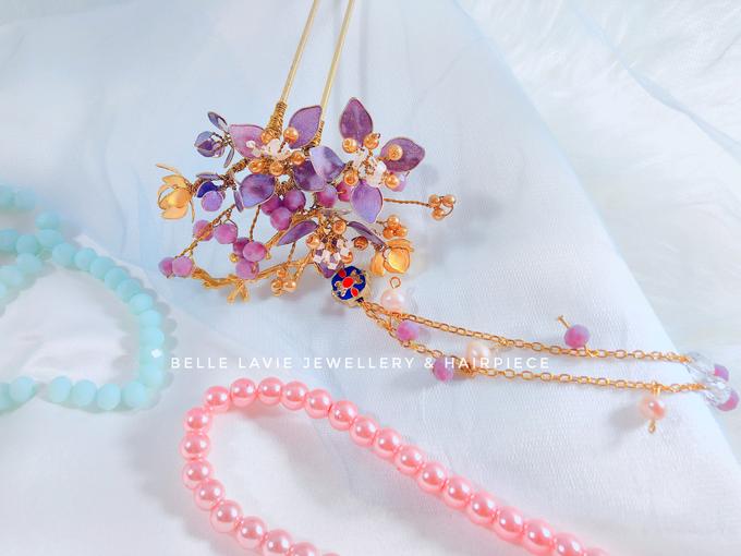 Hydrangea Chinese Hairstick by Belle La_vie - 001