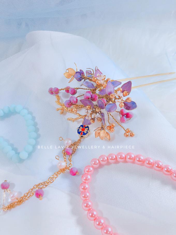 Hydrangea Chinese Hairstick by Belle La_vie - 002