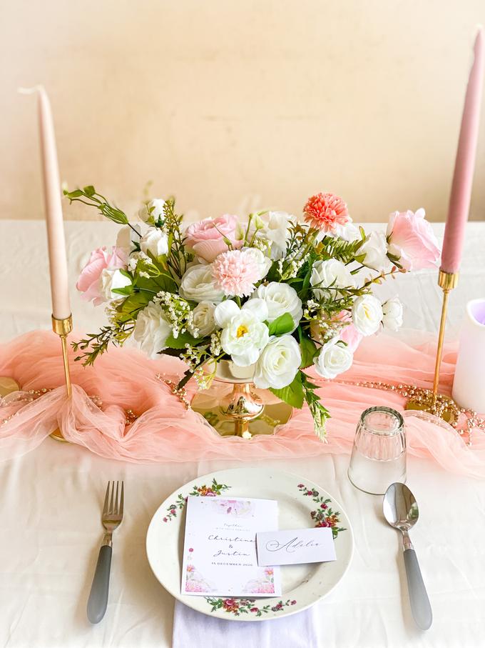 Table Decoration  by Benoite Florist - 002