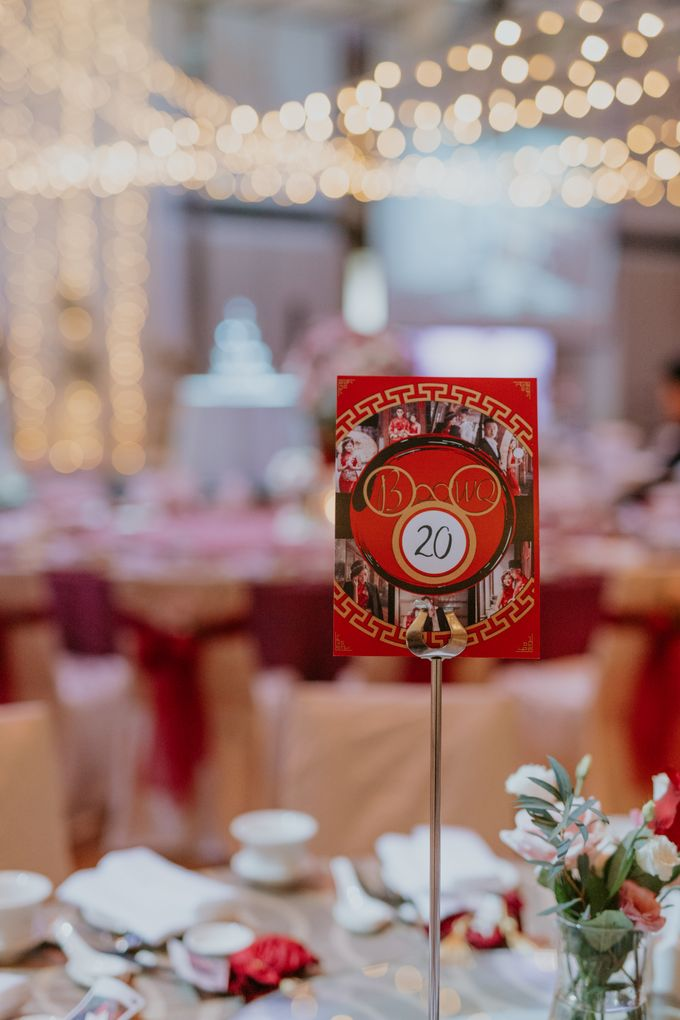 Modern Oriental Wedding of Ben and Wei Qi by Arches & Co. - 005