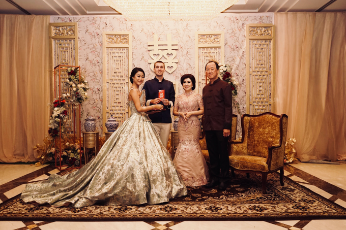 Vladimir & Dominique - Family Dress by Berta Chandra Couture - 007