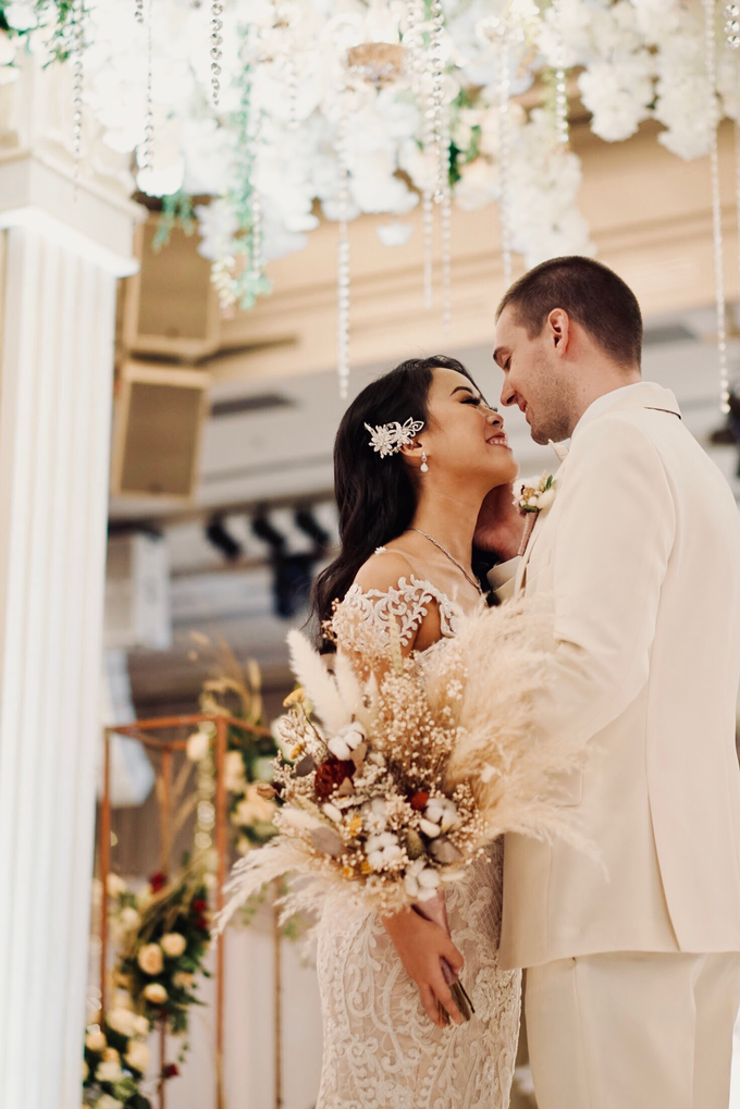 Vladimir and Dominique - Bride by Berta Chandra Couture - 010