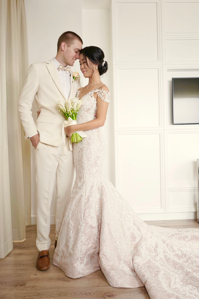 Vladimir and Dominique - Bride by Berta Chandra Couture - 013