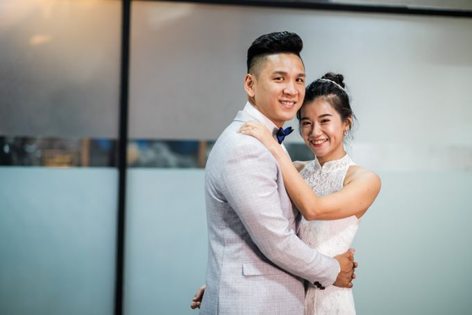 Anytime Fitness Engagement Shoot Singapore by Daniel Sim Photography by The Gown Warehouse - 002