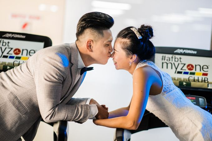 Anytime Fitness Engagement Shoot Singapore by Daniel Sim Photography by The Gown Warehouse - 010