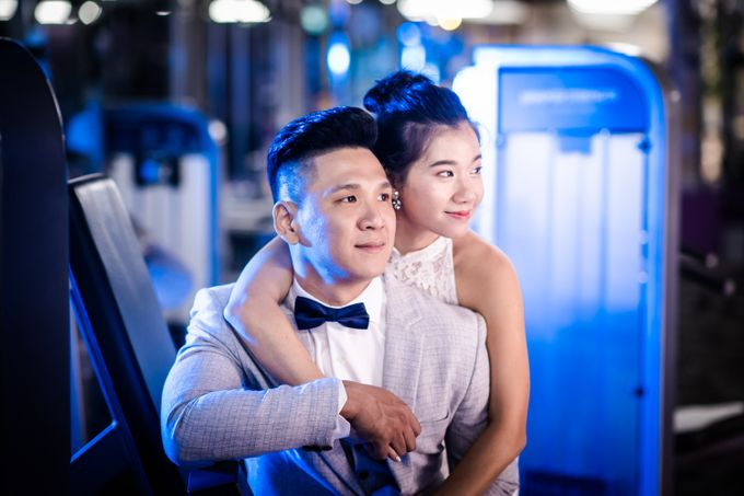 Anytime Fitness Engagement Shoot Singapore by Daniel Sim Photography by The Gown Warehouse - 013