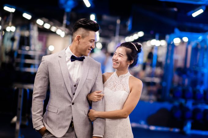Anytime Fitness Engagement Shoot Singapore by Daniel Sim Photography by The Gown Warehouse - 015