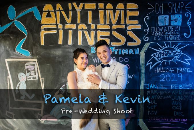 Anytime Fitness Engagement Shoot Singapore by Daniel Sim Photography by The Gown Warehouse - 001