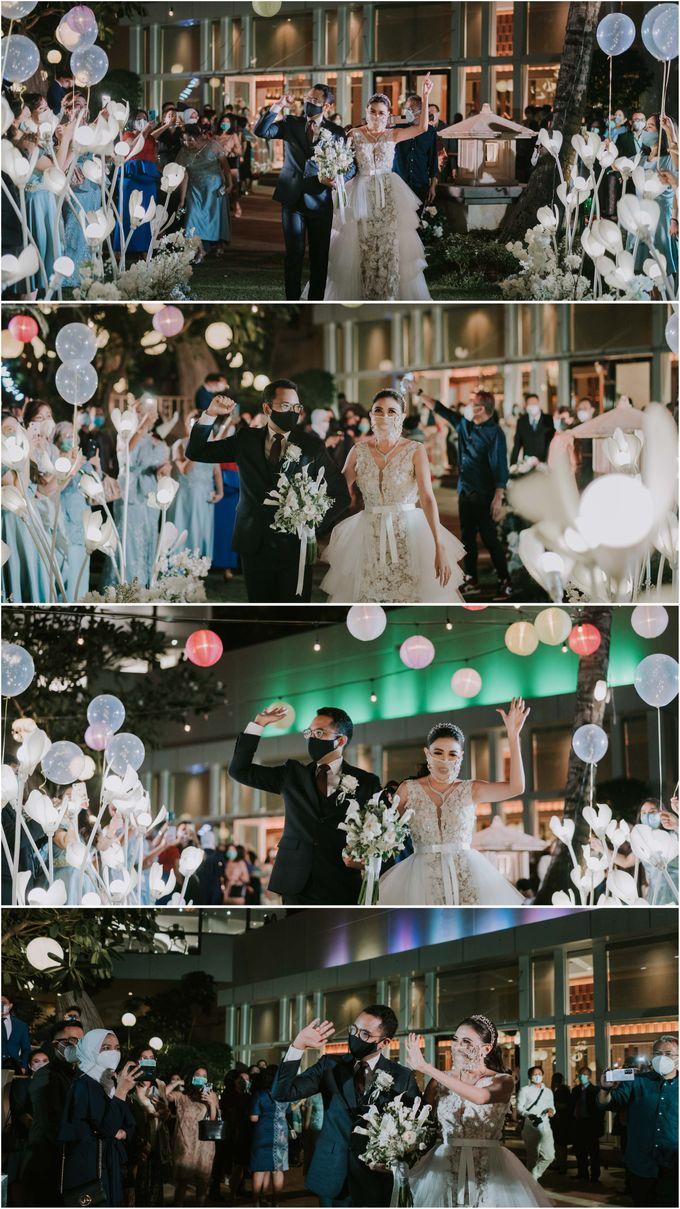 Betsy & Steven Wedding by AYANA Midplaza JAKARTA - 032