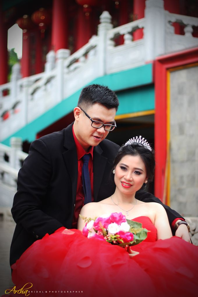 Prewedding outdoor by Archa makeup artist - 010