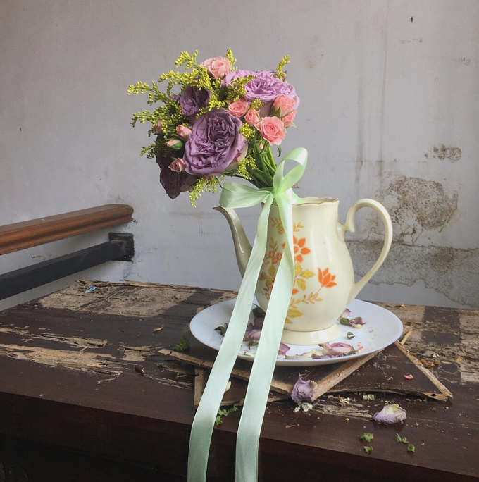Korean Style Wedding Bouquet by Beyond by Brigita - 003